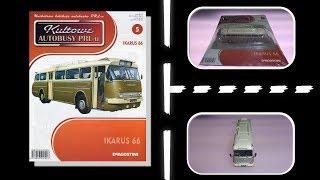 Deagostini - Kultowe Autobusy PRLu - Numer 5 - Prezentacja - Ikarus 66