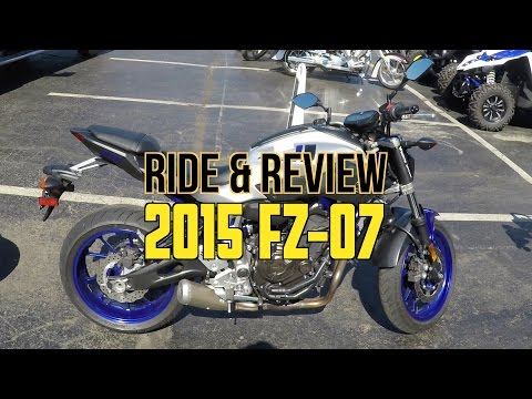 Ride & Review - 2015 Yamaha FZ-07
