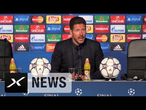 "Diego Simeone: ""Real Madrid war besser"" 