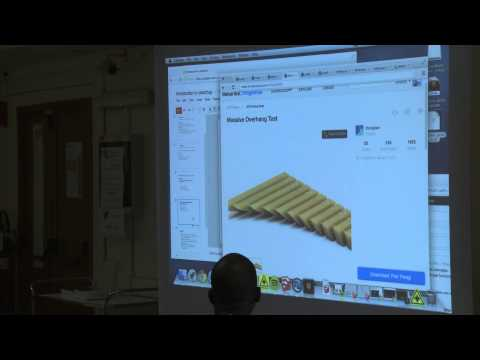 Introduction to: 3D modeling: SketchUp