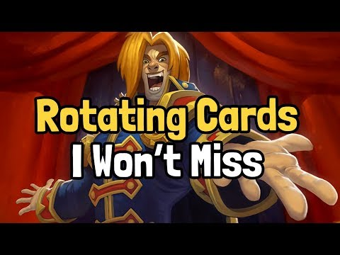 The 5 Rotating Cards I Won't Miss - Hearthstone