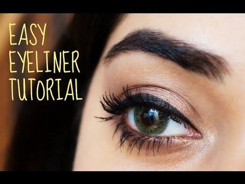 easy eyeliner tutorial for beginners  corallista  youtube