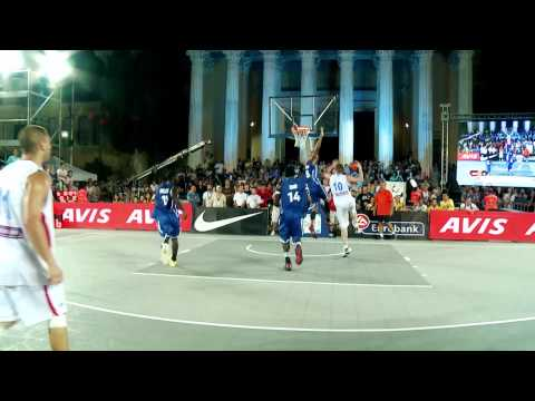 FIBA 3x3 World Championship - Serbia beat France for gold