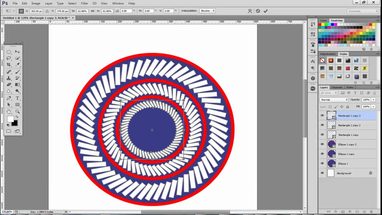 how to make repeated pattern in illustrator