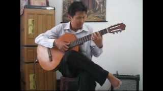 Elegi Esok Pagi - Ebiet G Ade - Guitar Solo by Andrianto