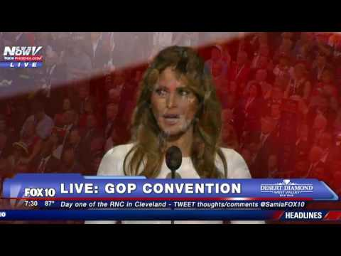 WATCH: Donald Trump Introduces Melania Trump at Republican National Convention - FULL SPEECH