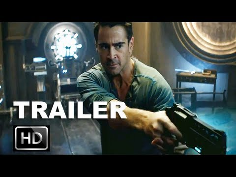 Total Recall 2012 Official Trailer  Hd   Colin Farrell Recalls His Dangerous Past  Entv