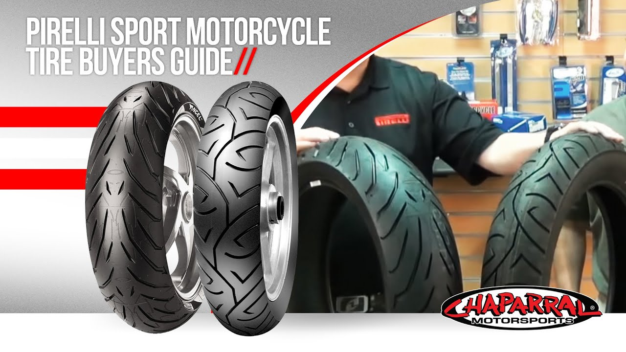 Tire Ratings Guide >> Pirelli Sport Motorcycle Tire Buyers Guide Featuring Pirelli Angel St and Sport Demon - YouTube