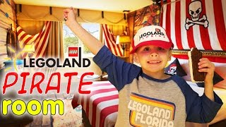 LEGOLAND Pirate Suite Room Tour