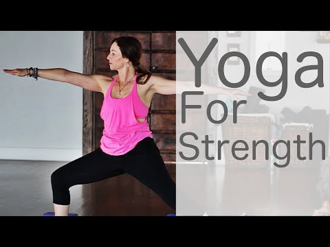 Vinyasa Yoga For Strength With Lesley Fightmaster