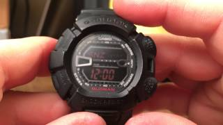 G9000MS-1 Mudman Casio G-Shock Watch Review (Military Series)