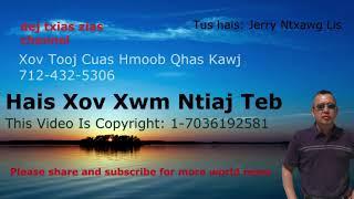 Hmong World News  (  Hmoob Xov Xwm )  11/15/18