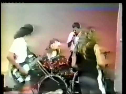 Raridade -  Sepultura no Programa do Sergio Groisman ( década de 80 )