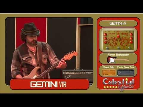 Celestial Effects Gemini VTR (Vibrato-Tremolo-Reverb) Demo