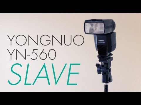 Yongnuo YN-560 Slave Modes - No Flash Triggers. No Problem! - CamCrunch