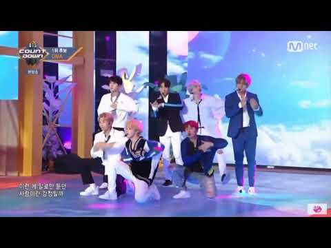 BTS (방탄소년단) - DNA (BTS COUNTDOWN 20171012 @ M COUNTDOWN) [2x Faster]