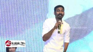 Dhanush Sing a song  from VIP at Shamitabh Movie Press Meet