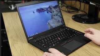 Lenovo ThinkPad X1 Carbon Ultrabook Hands On Review
