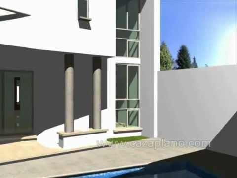 Dise os de casa moderna 3d incluye planos de casas - Disenos casas modernas ...