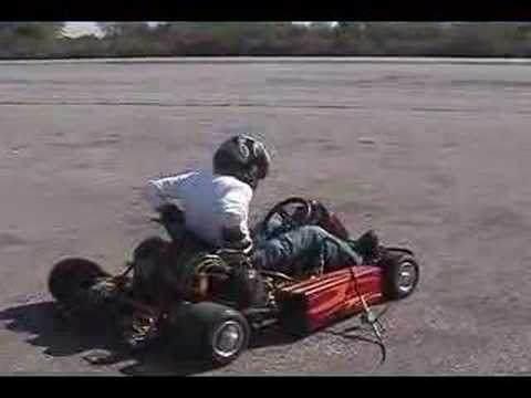 Turbo Kart vs Ferrari.