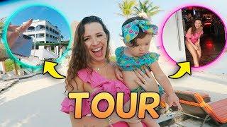 TOUR NO HOTEL + BATE PAPO ENTRE MÃES