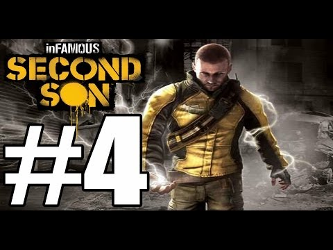 Infamous Second Son Cole's Legacy Walkthrough Part 4 / End (Includes Zeke)