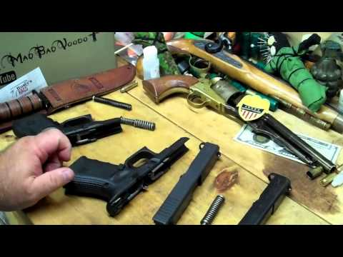 Glock 27 Gen 3 vs. Glock 23 Gen 4