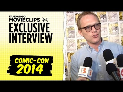 Paul Bettany 'Avengers: Age of Ultron' Exclusive Interview: Comic-Con (2014) HD