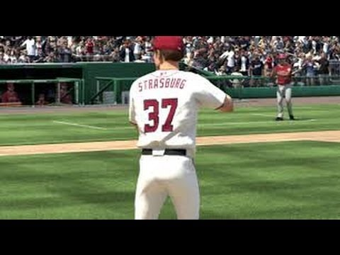 Washington Nationals VS Minnesota Twins MLB 13 The Show Ep 7