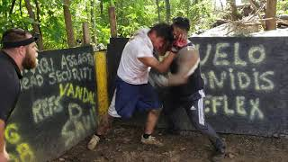 STREETBEEFS BEEF FIGHT MACHETE VS PERUVIAN PITBULL