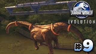 THE SICK SAUROPOD!!! - Jurassic World Evolution | Ep9