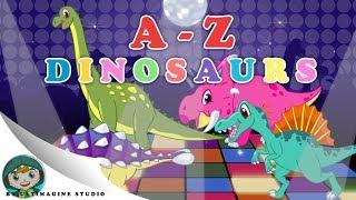 Dinosaur song A-Z | Nursery Rhymes For Kids เพลงเด็ก ไดโนเสาร์ A-Z