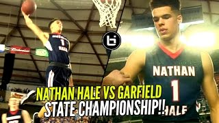 Nathan Hale vs Garfield State CHAMPIONSHIP! Michael Porter Jr NASTY OFF THE BACKBOARD DUNK!