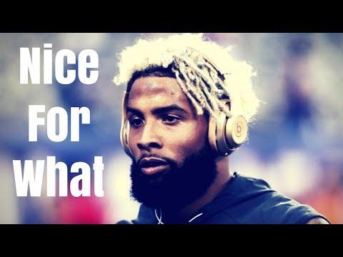 "Odell Beckham Mix - ""Nice For What"" / Drake"