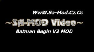 Hướng dẫn cài mod Gta Batman : The Dark Kinght Begin v3.0