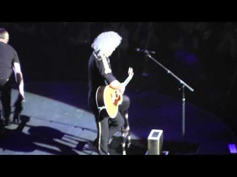 Queen+Adam Lambert 7/19/14: 9 - Happy Birthday Brian May - Uncasville, CT Full Show