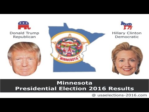 Minnesota Presidential Election 2016 Results  Updates