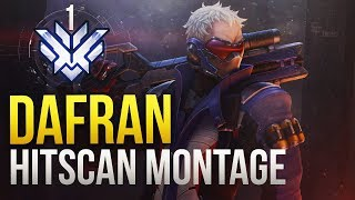 Dafran - RANK 1 WORLD Hitscan Montage - Tracer / Soldier GOD - Overwatch Montage