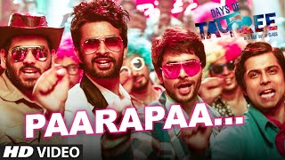PAARAPAA Video Song | DAYS OF TAFREE - IN CLASS OUT OF CLASS | BOBBY-IMRAN | T-Series