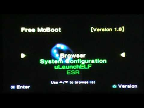 HDTv (Ps2) Free Mc Boot 1.8 Menu Review!!