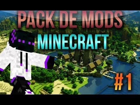 Mod Pack 1.8.1/1.8/1.7.10/1.7.2 Descargar El Mejor Pack De Mods Para .Minecraft Premium/No Premium