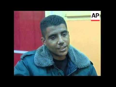 NEWS FEATURE Former Palestinian gunman establishes children's Freedom theatre