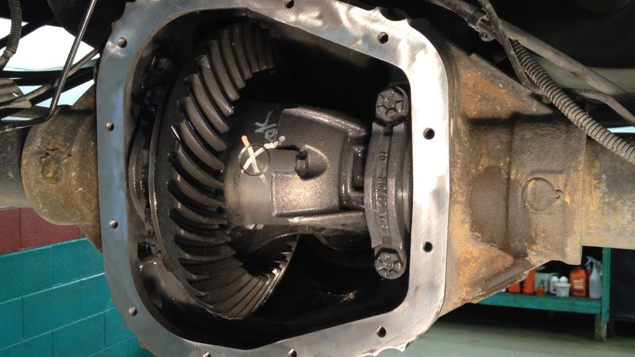 Ford rear axle seal leak repair youtube