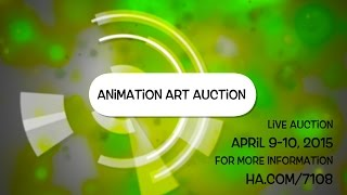 Animation Art Signature Auction, April 2015