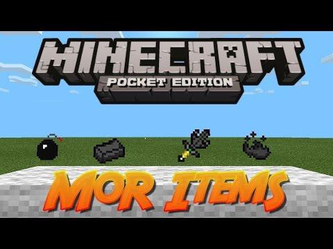 Minecraft Pe [0.9.5]-Mod (More Items)