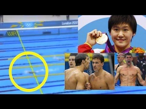 London Olympics Yi Shiwen vs Michael Phelps vs Ryan Lochte ??