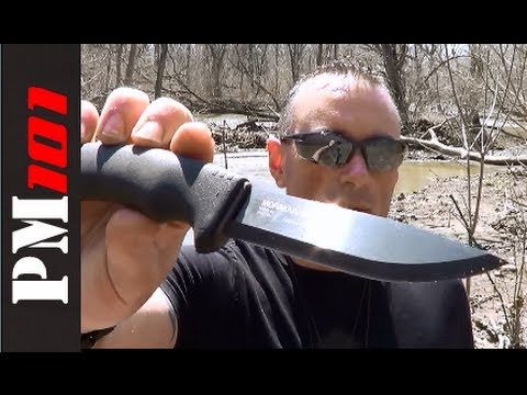 MORA Bushcraft Black: Best Budget Bushcraft Blade!