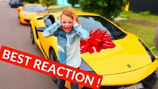 9 Year Old Son Finally Got His LAMBORGHINI |HIS DREAM CAME TRUE| NORRIS NUTS SURPRISE part 3 of 4