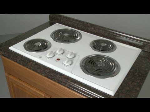 GE Electric Stove Top  Disassembly