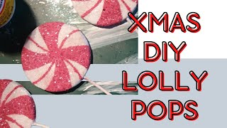 Christmas DIY - Lollipop Candy tree ornaments